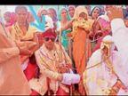 25 अप्रैल को शादी; 2 मई को मौत, 8वें दिन लक्ष्मी फिर अकेली|डूंगरपुर,Dungarpur - Dainik Bhaskar