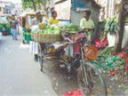 रेहड़ी-फड़ी मार्केट 15 तक बंद, अब वेंडर सीधे आढ़तियों से खरीद पाएंगे सब्जियां|लुधियाना,Ludhiana - Dainik Bhaskar