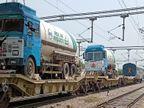 गुरुग्राम और फरीदाबाद के लिए पहले भी आ चुकी है दो ऑक्सीजन एक्सप्रेस, आज एक ट्रेन ओडिशा रवाना फरीदाबाद,Faridabad - Dainik Bhaskar