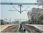 हरियाणा से गुजरने वाले रेलमार्गों का विद्युतीकरण हुआ, अब ज्यादा से ज्यादा ट्रेनों का संचालन संभव होगा|हरियाणा,Haryana - Dainik Bhaskar