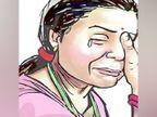 पैसों की की मांग पूरी न हुई तो दुबई से लौटे पति नशे में पत्नी के मुंह में कपड़ा ठूंसकर झाड़ू और जूतों से पीटकर घर से निकाला|जालंधर,Jalandhar - Dainik Bhaskar
