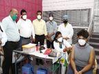 पहला टीका शुभम व शिवांगी को लगा, सीएम ने पूछा कैसा लग रहा, किसी ने पैसे तो नहीं मांगे, क्या संदेश देना चाहेंगे आप|जबलपुर,Jabalpur - Dainik Bhaskar