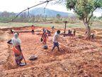 पांच दिन में जाना संथाली आदिवासी और कुरमी बहुल इलाकों का हाल, इनमें 20 गांवों के 3834 परिवारों में एक भी संक्रमित नहीं मिला|बोकारो,Bokaro - Dainik Bhaskar