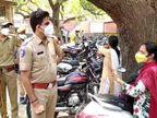 अस्पताल के अंदर घुसने के लिए उतावले हुए समर्थक, 2 महिलाओं को थाने ले गई पुलिस जोधपुर,Jodhpur - Dainik Bhaskar