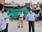 अगर नहीं माने तो खुली जेल में करें बंद, शहर के चप्पे चप्पे पर तैनात पुलिस|मुरैना,Morena - Dainik Bhaskar