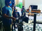 कोरोना संक्रमण के चलते राज्य में फिल्मों और टीवी सीरियल्स की शूटिंग पर रोक लगाई गई|बॉलीवुड,Bollywood - Dainik Bhaskar