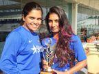 वेदा कृष्णमूर्ति की बहन का कोरोना से निधन, दो हफ्ते पहले ही मां को खोया था|IPL 2021,IPL 2021 - Dainik Bhaskar