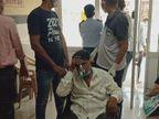 40 साल के युवक की गंभीर स्थिति देख छोड़ दिया खुद का बेड|पाली,Pali - Dainik Bhaskar