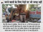 गोरखपुर में पीपल के पेड़ पर बंधे हैं 24 घड़े, लोग बोले- ऐसा कभी नहीं देखा, हर तीसरे घर में मातम|उत्तरप्रदेश,Uttar Pradesh - Dainik Bhaskar