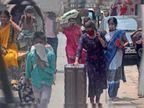 परदेस से लाैटे अपने शहर में फंसे कंधे पर सामान लेकर भटकते रहे, नहीं मिल रहीं गाड़ियां|मुजफ्फरपुर,Muzaffarpur - Dainik Bhaskar
