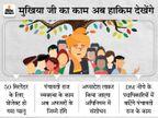 पंचायत प्रतिनिधियोंका अधिकार अफसरों के पास, गांव के लोगों का काम BDO, DDC और DM देखेंगे|बिहार,Bihar - Dainik Bhaskar