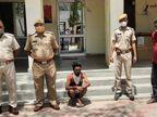 चित्तौड़गढ़ हॉस्पिटल के कोविड सेंटर से भागे आरोपी को पाली से किया गिरफ्तार, दो पहले ही किए जा चुके हैं अरेस्ट|चित्तौड़गढ़,Chittorgarh - Dainik Bhaskar