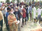 15 दिन पूर्व गांव की एक लड़की से भाग कर की थी शादी, आज सुबह पेड़ से लटकी मिली लाश|बांका,Banka - Dainik Bhaskar