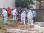 महामारी में किसी भी धर्म के व्यक्ति की मौत हो, अलवर नगर परिषद की 15 सदस्यों की टीम ही पहुंचती है कब्रिस्तान और श्मशान घाट|अलवर,Alwar - Dainik Bhaskar