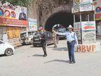 हर जगह पुलिस, फिर भी बेवजह घरों से निकले कई लोग, 82 के चालान शिमला,Shimla - Dainik Bhaskar