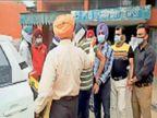 एमएलआर काटने पर 40 हजार रुपए रिश्वत लेते दो फार्मासिस्ट व डॉक्टर अरेस्ट अमृतसर,Amritsar - Dainik Bhaskar