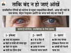 कोरोना संक्रमित डायबिटीज रोगियों को इलाज के दौरान फंगल इंफेक्शन हुआ; आंखों की रोशनी और जान तक गई|जयपुर,Jaipur - Dainik Bhaskar