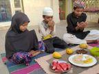 घर में रोजा रखकर बच्चे कर रहे महामारी से देश को बचाने की इबादत|गुना,Guna - Dainik Bhaskar