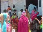 सरकारी राशन दुकानों पर गाइडलाइन की उड़ रही धज्जियां|गुना,Guna - Dainik Bhaskar