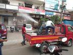 शहर के सभी वार्डों में सैनिटाइजेशन का काम शुरू, मुख्य अभियंता नोडल अधिकारी नियुक्त|फरीदाबाद,Faridabad - Dainik Bhaskar