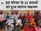 एक परिवार के 21 लोग कोरोना पॉजिटिव हुए, इनमें 6 महीने के बच्चे से लेकर 80 साल के बुजुर्ग भी शामिल महाराष्ट्र,Maharashtra - Dainik Bhaskar
