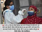दो छोटे बच्चों को मां-बाप के जिम्मे छोड़ अब तक 50 हजार से ऊपर किए टेस्ट; बोलीं- 12 घंटे PPE किट पहनने से शरीर थकता है, मन नहीं बिहार,Bihar - Dainik Bhaskar