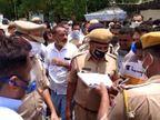 अप्रैल माह में संक्रमित अवश्य बढ़े, लेकिन लोगों की सतर्कता के कारण चालान की संख्या आधी रह गई जोधपुर,Jodhpur - Dainik Bhaskar