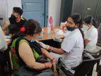62. 83 लाख पहली डोज ले चुके, 15. 68 लाख डबल डोज लेकर सुरक्षित हुए, पटना में संक्रमण से तीन गुना ज्यादा वैक्सीनेशन|पटना,Patna - Dainik Bhaskar
