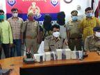 समझौते की राह में रोड़ा बनने पर बदमाशों ने की तीन हत्याएं, लॉकडाउन में घर लौटे एक-एक लाख के दो इनामी STF के हत्थे चढ़े उत्तरप्रदेश,Uttar Pradesh - Dainik Bhaskar