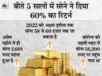 इस बार अक्षय तृतीया पर सोने में निवेश दिला सकता है शानदार रिटर्न, साल के आखिर तक 55 हजार तक जा सकता है|बिजनेस,Business - Money Bhaskar
