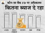 ICICI के बाद अब पंजाब नेशनल बैंक ने भी FD की ब्याज दरों में किया बदलाव, यहां जानें अब कितना ब्याज मिलेगा|बिजनेस,Business - Money Bhaskar