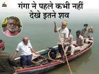 हिन्दू धर्म में शव के जलप्रवाह का विधान नहीं, जिन्हें शव डिस्पोज करने की जिम्मेदारी दी गई, यह उनकी अमानवीयता:गंगायात्री बक्सर,Buxar - Dainik Bhaskar