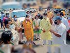 पाॅजिटिव रिपाेर्ट आए तो मरीज काे राधा स्वामी सेंटर इंदाैर या गांव के काेविड केयर सेंटर भेजें|महू,Mhow - Dainik Bhaskar
