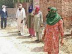 ग्रामीण बाेले- 33 केवी लाइन से रहेगा करंट का खतरा, एसडीओ बोले- सरकारी काम को राेकना इनका उद्देश्य|पानीपत,Panipat - Dainik Bhaskar