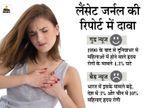 भारत में 3% और चीन में 10% महिलाएं हृदय रोग से पीड़ित, लैंसेट जर्नल की रिपोर्ट में वैज्ञानिकों ने किया दावा|लाइफ & साइंस,Happy Life - Dainik Bhaskar