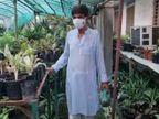 भागलपुर के 'पुष्पमित्र' के पास 40 किस्म के सेन्सीवेरिया के पौधे, 30 साल से बांट रहे हैं|बिहार,Bihar - Dainik Bhaskar