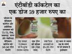 सरकारी मेडिकल कॉलेजों में भर्ती कोरोना मरीजों को दिए जाएंगे, केद्र को भेजेंगे ट्रायल रिपोर्ट|मध्य प्रदेश,Madhya Pradesh - Dainik Bhaskar