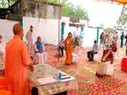 देवरिया पहुंचे मुख्यमंत्री योगी ने कोविड अस्पताल का किया निरीक्षण, मरीजों से ली सुविधाओं की जानकारी गोरखपुर,Gorakhpur - Dainik Bhaskar