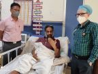 कोरोना सेवा केंद्र में डाक्टरों ने बचाई जान, 28 दिन बाद ठीक होकर मरीज पहुंचा घर फरीदाबाद,Faridabad - Dainik Bhaskar