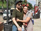 15 साल बाद Kissing कंट्रोवर्सी भुलाकर गले लगे मीका सिंह-राखी सावंत, राखी ने पैर छुए और सिंगर की तारीफ भी की|बॉलीवुड,Bollywood - Dainik Bhaskar