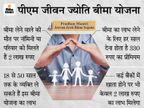 कोरोना से मौत पर भी नॉमिनी को मिलेगा पीएम जीवन ज्योति बीमा योजना का लाभ, इसमें 330 रुपए में होता है 2 लाख का बीमा|बिजनेस,Business - Dainik Bhaskar