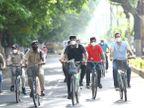 होम आइसोलेट कोरोना मरीजों का हाल जानने सड़क पर उतरे चिकित्सा शिक्षा मंत्री विश्वास सारंग; पूछे- ठीक रहने के लिए क्या कर रहे हैं?|मध्य प्रदेश,Madhya Pradesh - Dainik Bhaskar