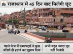 8 जून तक लॉकडाउन के बीच दुकानों के खुलने का समय बढ़ेगा; एक्सपर्ट्स बोले- कम केस वाले जिलों को पहले खोलें जयपुर,Jaipur - Dainik Bhaskar