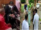 केंद्रीय मंत्री स्मृति ईरानी का अमेठी दौरा, मृतकों के परिजनों का जाना हाल; जगदीशपुर सीएचसी औचक निरीक्षण किया|लखनऊ,Lucknow - Dainik Bhaskar