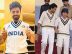 टीम इंडिया के ऑलराउंडर रवींद्र जडेजा ने दिखाई जर्सी की झलक, लिमिटेड ओवर क्रिकेट में भी रेट्रो जर्सी इस्तेमाल हो रही|क्रिकेट,Cricket - Dainik Bhaskar