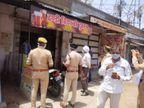 अलीगढ़ में जहरीली शराब से 30 मौतों के बाद जागा प्रशासन, आबकारी विभाग और पुलिस ने सरकारी ठेकों पर चलाया चेकिंग अभियान|झांसी,Jhansi - Dainik Bhaskar
