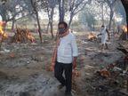 लखनऊ में गोमती के घाटों पर चिता जलाकर गए परिवार लौटकर अस्थियां लेने नहीं आए, अब अस्थियों का विसर्जन करेंगे समाजसेवी लखनऊ,Lucknow - Dainik Bhaskar