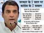 राहुल गांधी ने कहा- कोरोना से लड़ने के लिए सही नीति और नीयत चाहिए, सुरजेवाला बोले- ये सरकार हानिकारक है|देश,National - Dainik Bhaskar