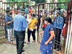 स्लॉट बुक नहीं करा सके 240 लोगों को मोबाइल वैन से दिया गया टीका|रांची,Ranchi - Dainik Bhaskar