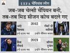 9 साल पहले जब चेल्सी पहली बार चैंपियन बनी, तो बीच सीजन में कोच बदले गए; इस बार भी लैंपार्ड को हटाकर टुचेल बने थे कोच|स्पोर्ट्स,Sports - Dainik Bhaskar